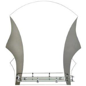 Зеркало ST №352Т с креплением 500 х 600 (ДМ)