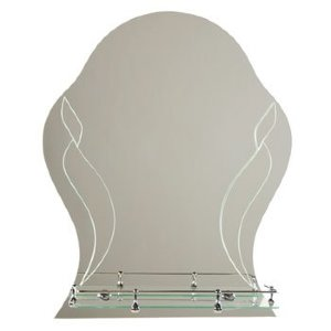 Зеркало ST №357 с креплением 500 х 600 (серебро)
