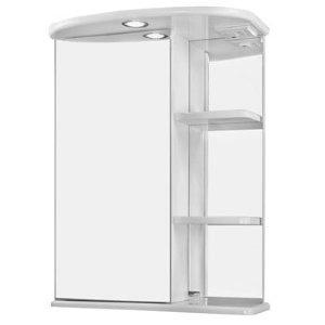 НЗ  Зеркало-шкаф ST 55 см ЛИЛИТ (с подсветкой, левый)