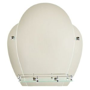 Зеркало ST №40 с креплением 510 х 560 (серебро)
