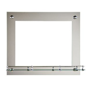 Зеркало ST №5 с креплением 500 х 600 (комби)