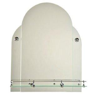 Зеркало ST №С с креплением 450 х 560 (серебро)
